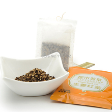 Hot sale20bags Chinese green food herbal tea ginger tea bag weight loss coffee for woman regulate