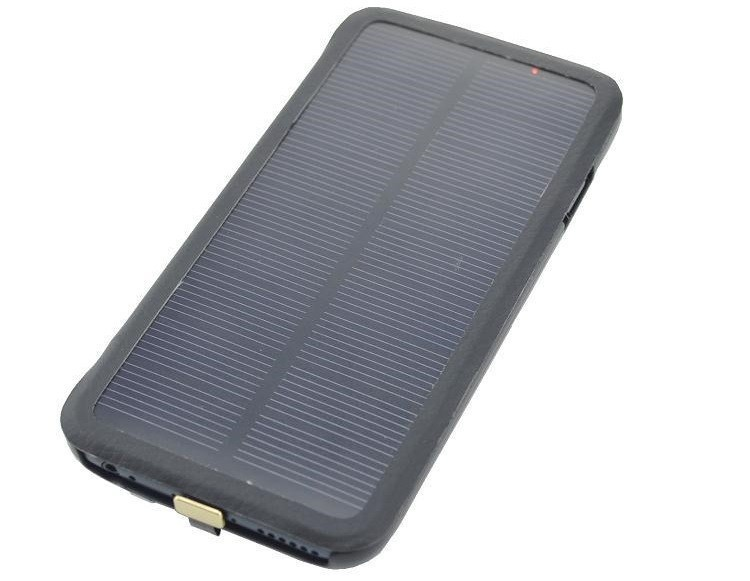4200mAh Solar Power External Backup Battery Case iPhone 6 Plus 5.5 Inch Portable Powerbank Charger Protective Flip - LIONSTAR Electronic Mall store