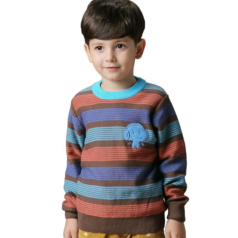 Гаджет  Kids Boys Striped Sweater autumn child neck sweater cotton turtleneck sweater shirt children None Изготовление под заказ