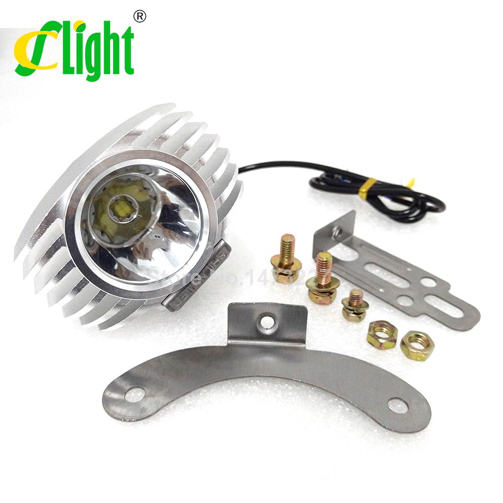 Led Spotlight Headlamp: Led Car External Headlight 15W 1800LM 8 85V Motorcycle Fog