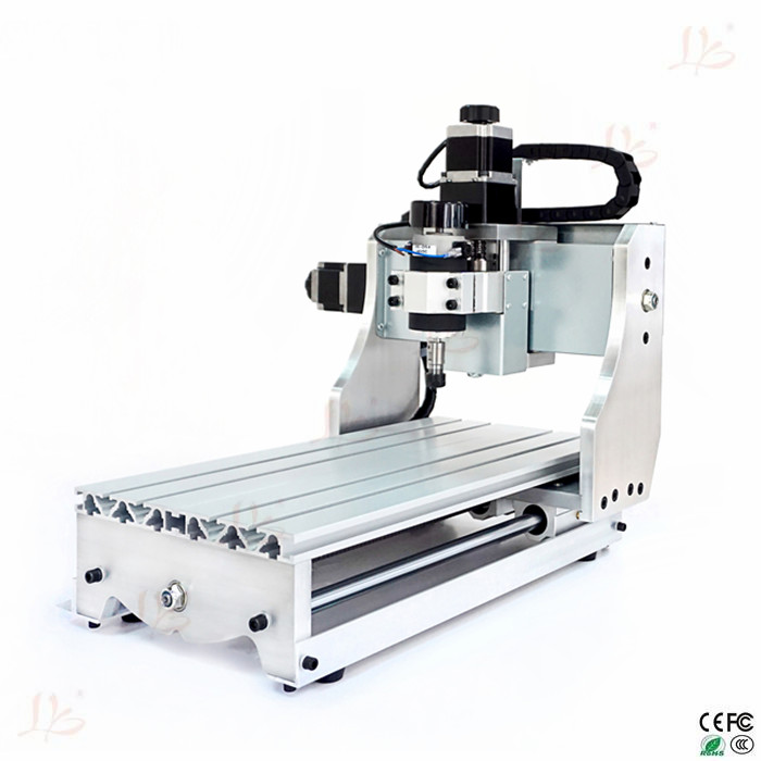 Desktop Mini CNC Router 3020T-D300 4 axis cnc milling machine,high precision and good quality(China (Mainland))