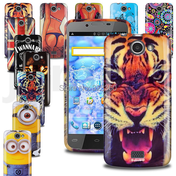 (With Screen Protective Film) In Stock TPU Printing Gel Case For Explay HD Quad Soft Back Case Cover(China (Mainland))