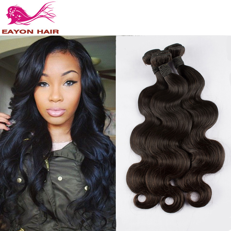 Eayon Hair Products 7A Brazilian Virgin Hair Body Wave 3pc Lot Unprocessed Virgin Human Hair Weave Bundles Very Thick &amp; Soft<br><br>Aliexpress