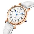 2016 New Fashion famous brand genuine leather strap women watches quartz analog wrist watch relogio feminino