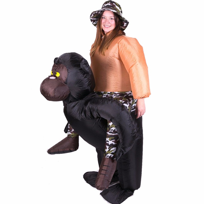 Inflatable Suit Costume Animal Chimpanzee Halloween Cosplay Costumes Christmas For Adult Club Themed about animal(China (Mainland))