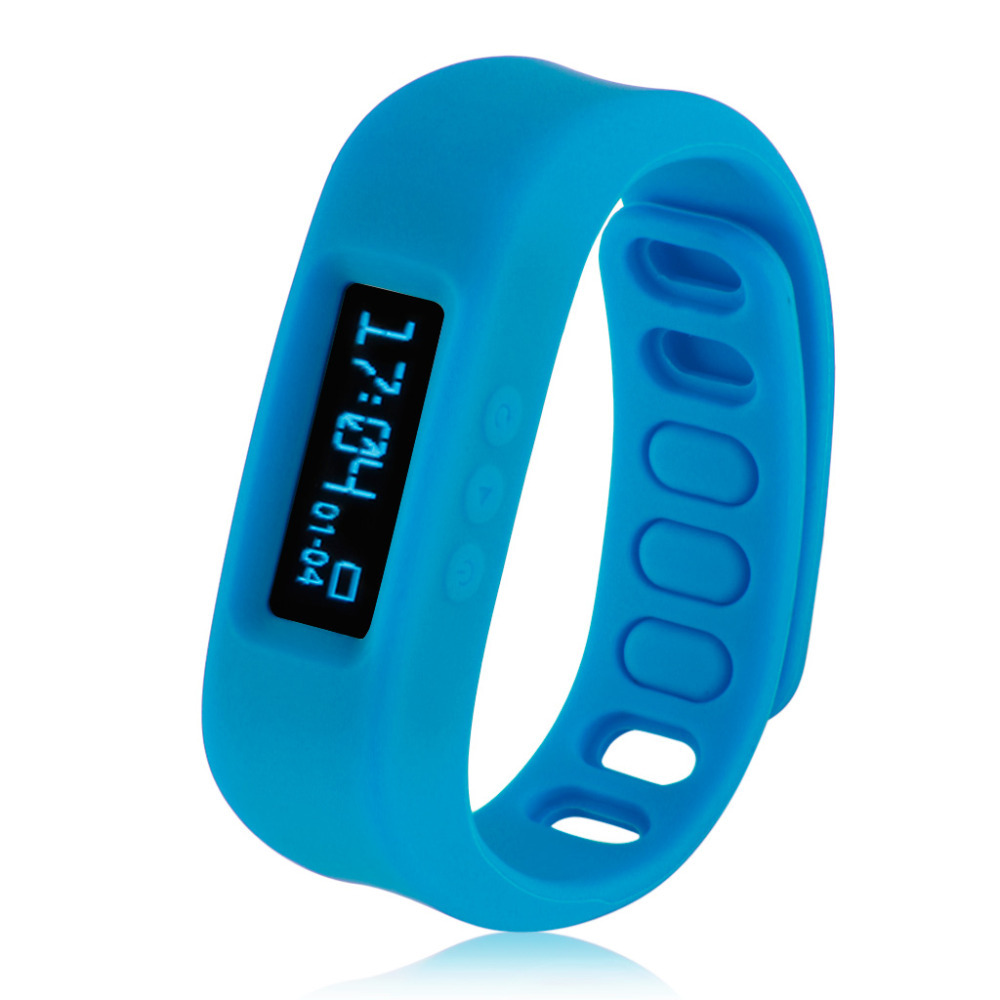 OLED Smart Healthy Bracelet Bluetooth V2.1 Wristband with Pedometer/Sleep Monitoring/Tracking Calorie For Android Phone(China (Mainland))