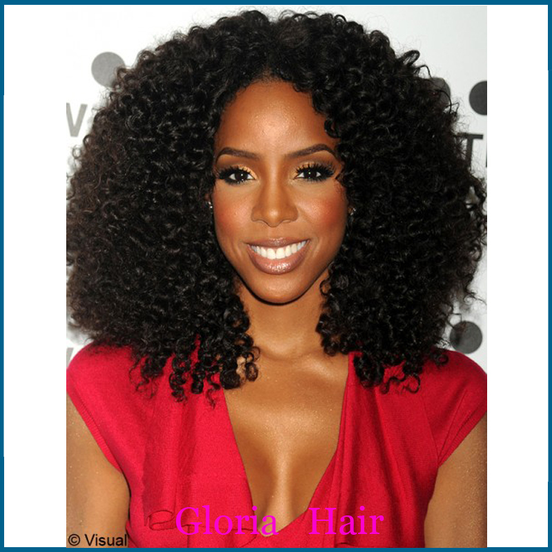 High Quality Afro Kinky Curly Wig for African American ...