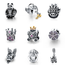 Buy SG 100% Authentic 925 Sterling Silver Dazzling Animal Charm Beads Fit European Bracelet Pendant DIY Original Jewelry Gift SG1203 for $6.47 in AliExpress store