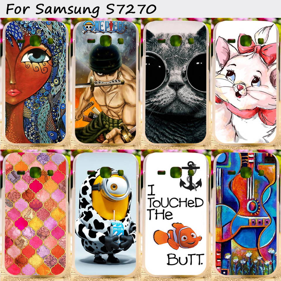 Cell Phone Skins Cases For Samsung Galaxy Ace III 3 S7270 S7272 ACE3 S7275 S7278 Cases Hard Plastic and Silicon Cover Phone Case(China (Mainland))