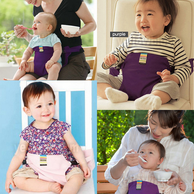 Baby Dining Belt Portable Infant Chair Seat Safety Cotton Belt