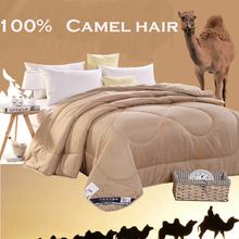 100% de pelo de camello alta calidad de doble engrosamiento del pelo de camello mantas eran cálidos de otoño e invierno lijado camel(China (Mainland))