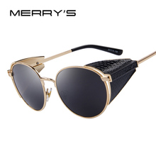 Retro Steampunk Sunglasses Round Circle Lens