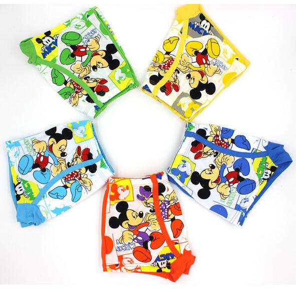 free shipping 1piece 2015 children's underwear children's underwear fashion explosion models cotton boxer briefs boys(China (Mainland))