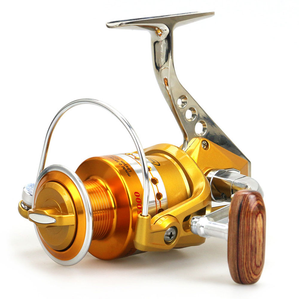 Bait casting reels spinning fishing reel with hi strength for Fishing line on reel