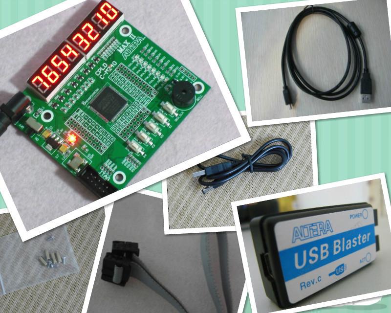 USB Blaster+ cpld development board cpld altera development cpld board EPM240T100C5N epm240 board altera MAX II epm240(China (Mainland))
