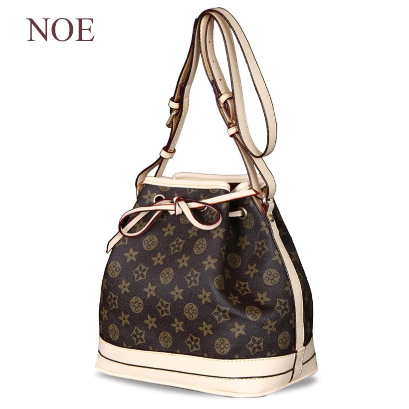 designer handbags high quality NOE Barrel bag ladies M42224 shoulder bags N42222 EPI genuine leather bag M40842(China (Mainland))