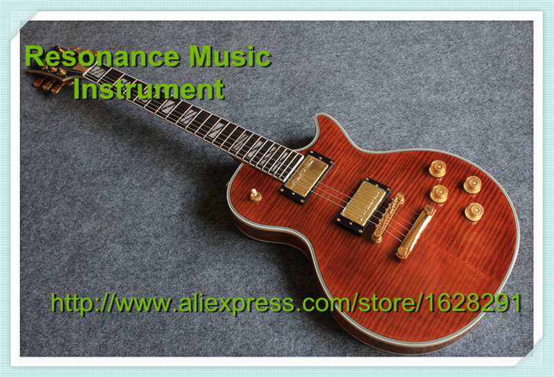 New Arrival Mahogany Body Electric LP Guitar Supreme Globe Logo Headstock In Stock(China (Mainland))