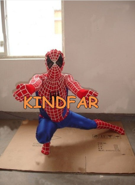 Spider Man Spiderman Mascot Costume Fancy Dress Suit Outfit Cartoon Character Party  -  Kindfar Factory store