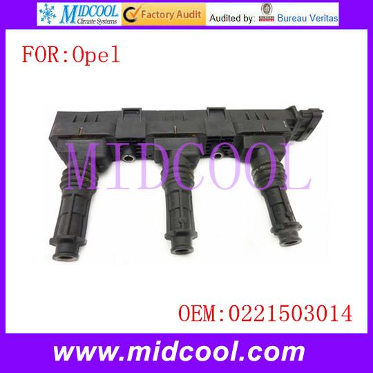 Новый катушка зажигания использования OE NO. 0221503014 для Opel Corsa B 1.0i 12 В
