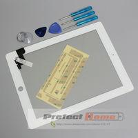 100% тестирование хорошо лобового стекла замена с профессиональный ремонт комплект lcd сенсорный экран планшета для ipad 2