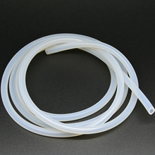 One Meter Inner Diameter 3 mm Outside Diameter 5 mm  Milky White Hose Aquarium Accessories Silicone Tube(China (Mainland))