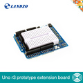 Free Shipping UNO Proto Shield prototype expansion board with SYB 170 mini bread board based For