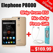 Elephone P8000 Android Phone MTK6753 Octa Core 3GB RAM 16GB ROM Smartphone 5.5 inch FHD 13MP 4G LTE Mobile Phone 2015 Preorder(China (Mainland))