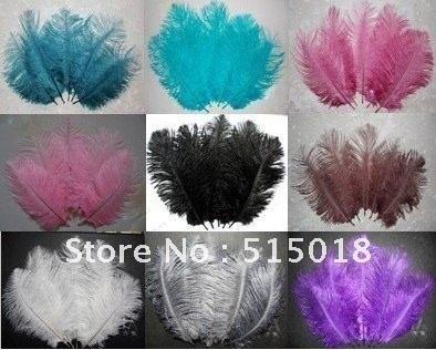 10short 15-20cm 5.9-7.8in good quality fluffy ostrich plumes feather feathers centerpieces wedding - nectar store