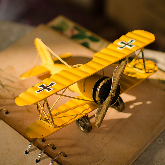 Free Shipping Model metal model vintage antique style plane aircraft toys Gift vintage home decor ww2 model airplane(China (Mainland))