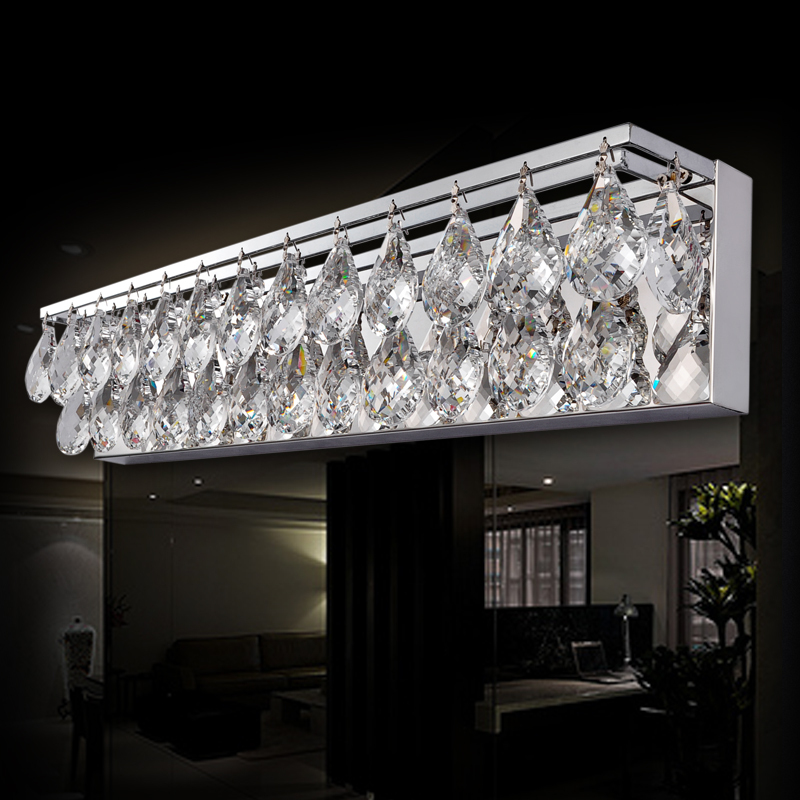 Bathroom Chandelier Sconces crystal bathroom lighting photo gallery | betah consultants