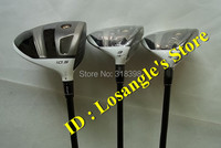 3PCS R.B.Z Stage2 Golf Driver 10.5loft Fairway Woods Set #3#5 With Graphite R Shaft Head Covers Grips Golf Driver Wood Clubs