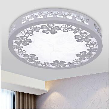 Wooden Led Ceiling Light D350 24W AC85~265V Bedroom Ceiling Lamp Modern indoor Brief Dining Room lighting<br>