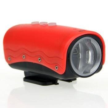 Красный цвет Mini HD спорт камера HD 720 p 20 м водонепроницаемый DVR кулачок Mini спорт dv кулачок