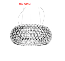 50cm/19.68'' Modern Foscarini Caboche Pendant Lights Bedroom Pendente Lustres Pendente Para Sala 110-240V Restaurant Fixtures(China (Mainland))