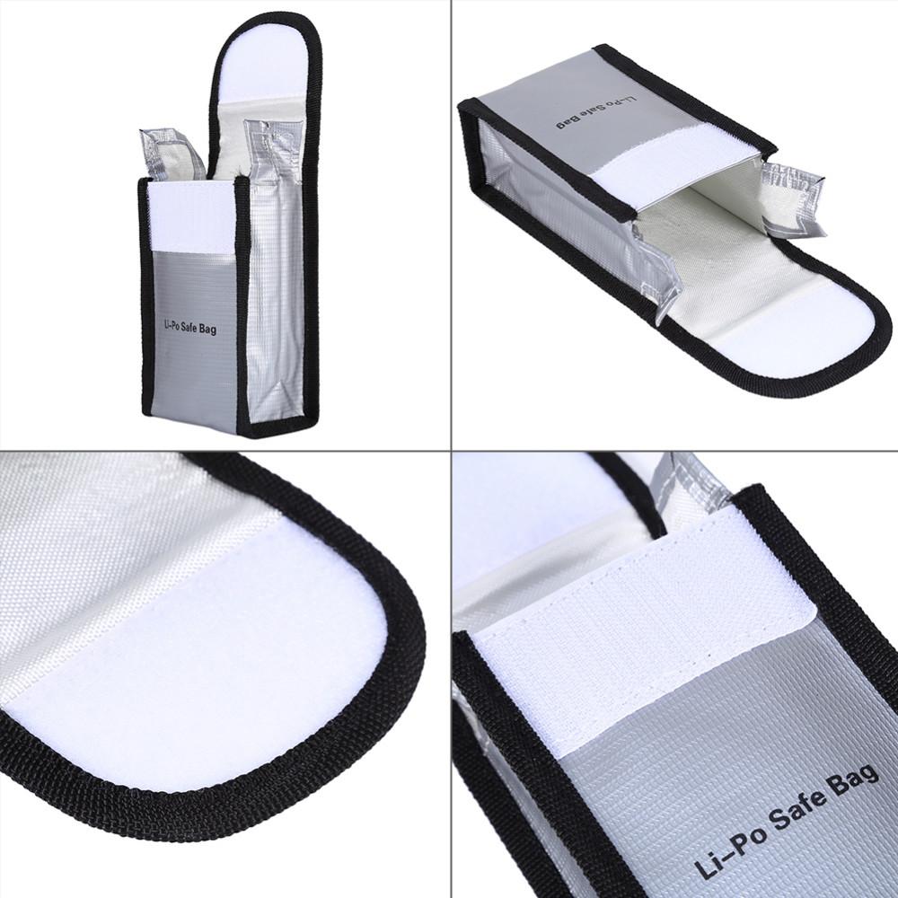 135mm*85mm Lipo Battery Safety Bag LiPo Safe Battery Guard Charging Protection Bag For DJI Phantom 3 & 4 Battery New