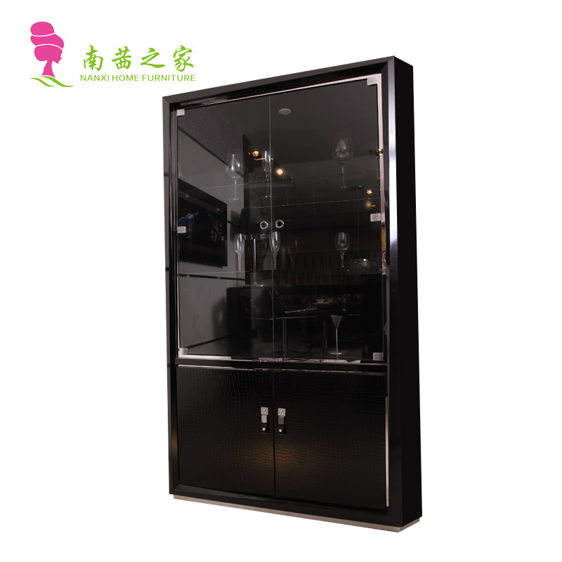 wooden wine cabinet living room modern cabinet red wine storage cabinet home furniture(China (Mainland))