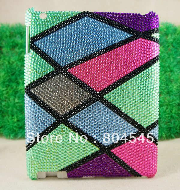 Bling Diamond Crystal Hard Back Cover Case for ipad mini