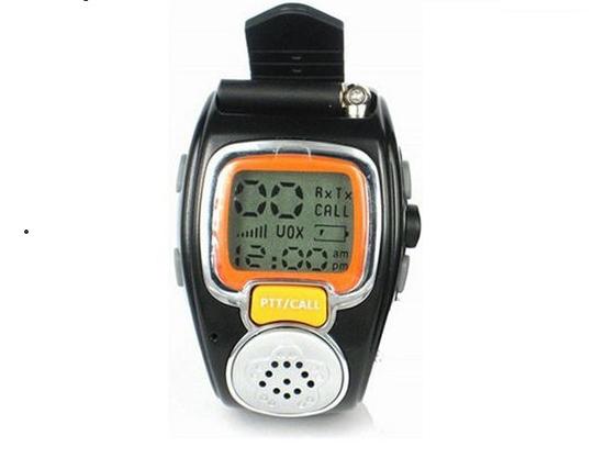 1Pcs Portable Digital Freetalker Walkie Talkie Two 2-Way Radio Wrist Watch(China (Mainland))
