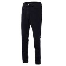New Arrival 2016 Men Stylish Denim Pants Jeans Male Casual Zipper Fly Slim Fit Elastic Straight Long Trousers Top Quality(China (Mainland))