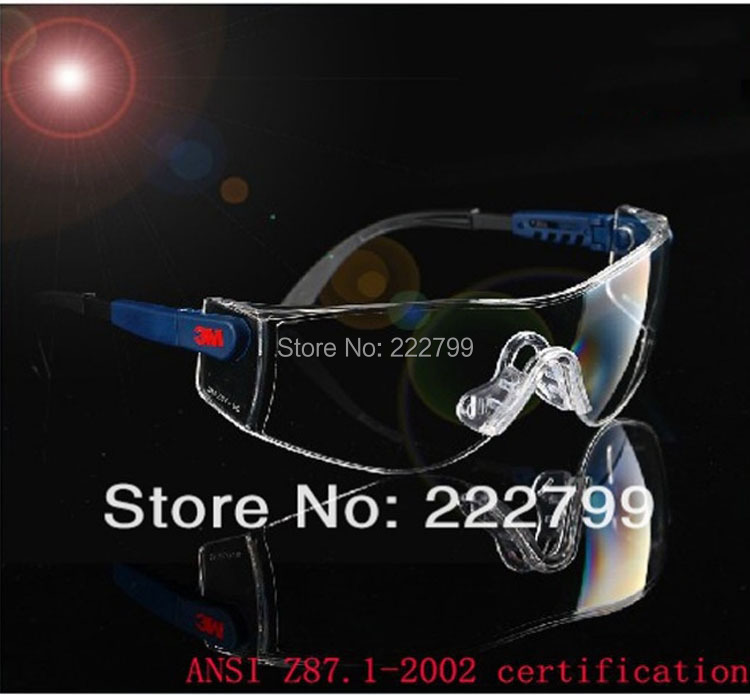 laboratory protective glasses dust sand goggle sunglasses impact safety working glasses 3MSG002 Free shipping(China (Mainland))