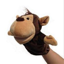 Lovely Funny Hand Puppet Hot Sales Gift Speaking Animal Puppet For Kid Child  (China (Mainland))