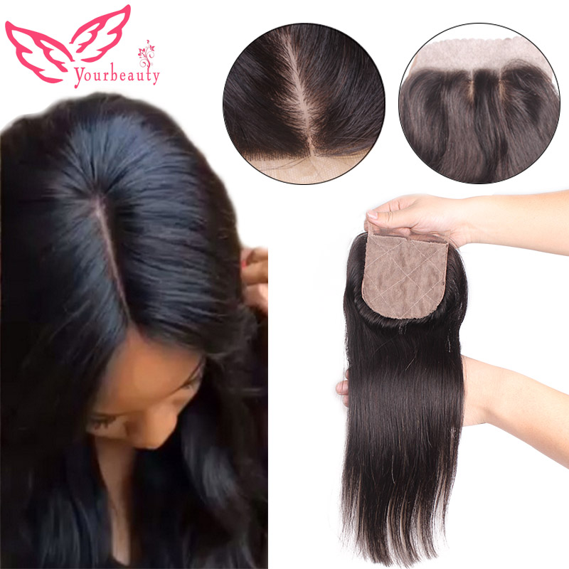 6A Cheap Malaysian Straight Silk Base Closure 4x4 Virgin Human Hair Free Middle 3 Part Straight Silk Top Closure Bleached Konts<br><br>Aliexpress