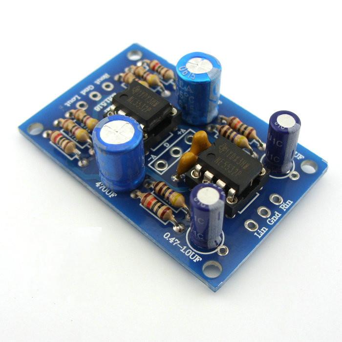 47 Headphone Audio Amplifier DIY Kits NE5532 OP AMP board(China (Mainland))