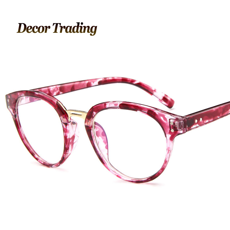 2017 new fashion vintage large glasses frame brand designer eye glasses frame for men women 2188