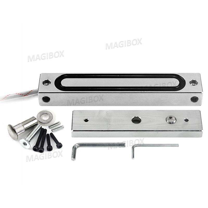 Brand New Model 240Lbs 110kg Weatherproof Electromagnetic Lock for Door Access Control System magnetic locksIntercom system<br><br>Aliexpress