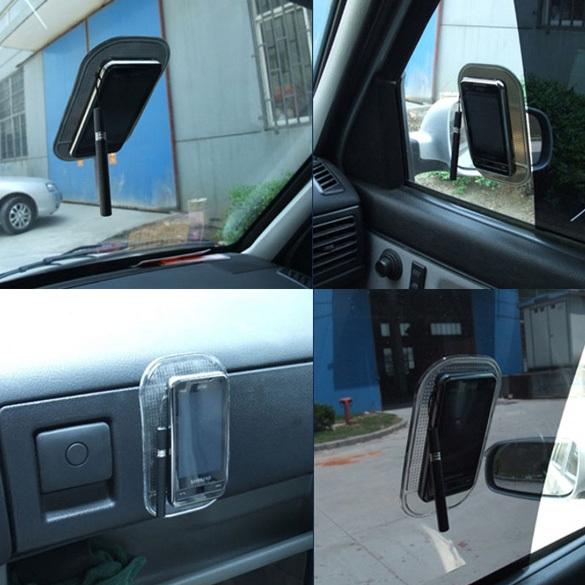 Cabine Plastic Blue Sticky Mat Anti Slip Pad Car Dash for Phone C tC#S8(China (Mainland))