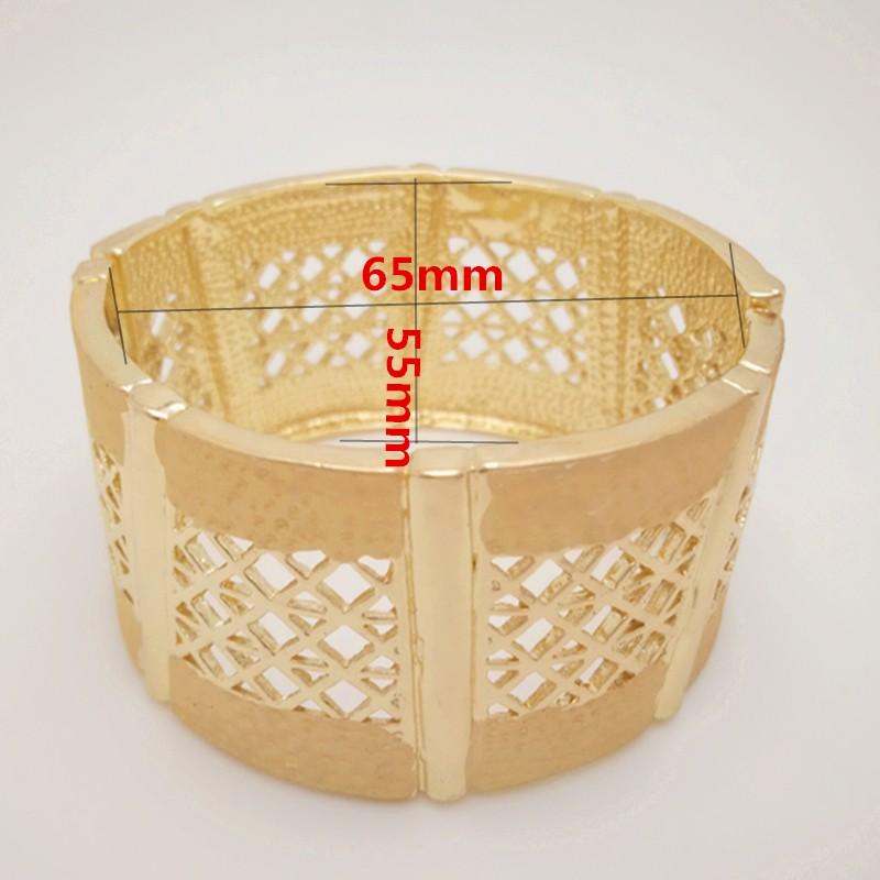 Бесплатная доставка Q и P таиланд 18 К позолоченные большой горный хрусталь свадьбы комплект для новобрачных - P0042025