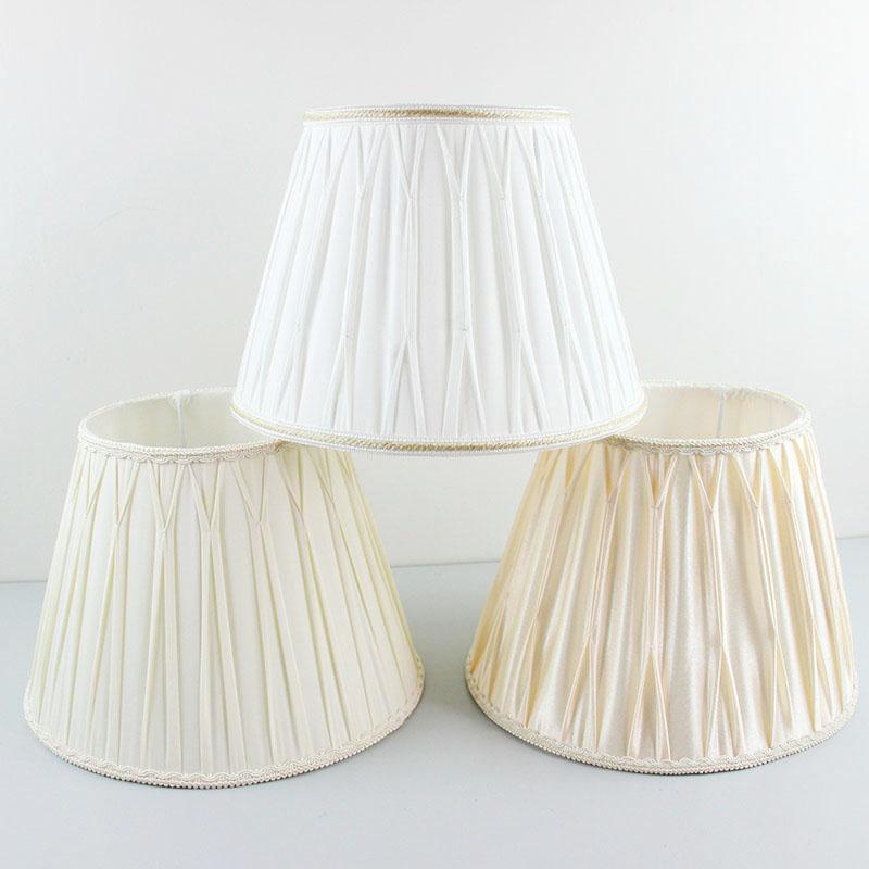 High Quality 30cm 35cm Modern Decorative Fabric Lamp