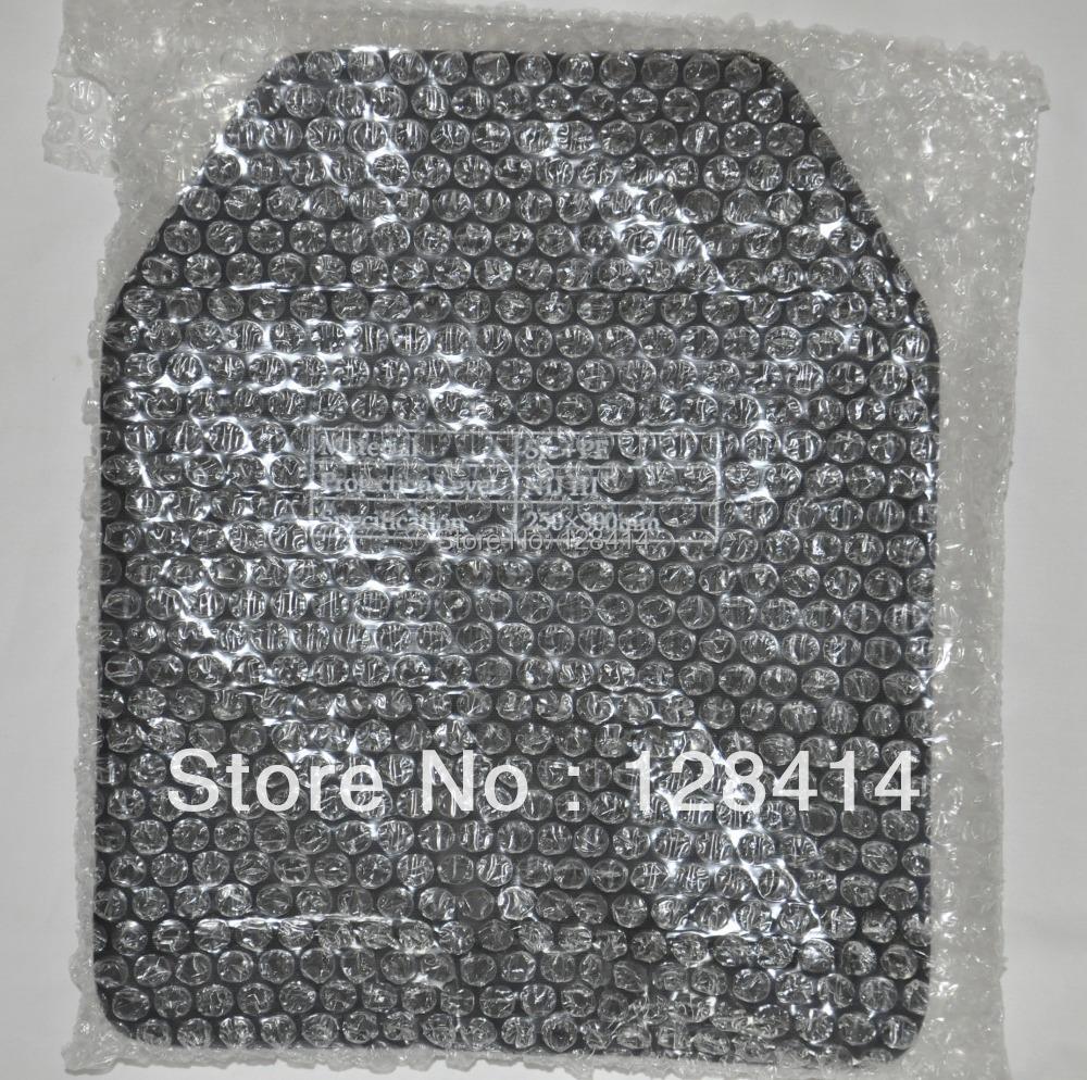 Гаджет  Free Shipping!! 100% NIJ III+ Stand Alone PE Ballistic Panel/ Hard Body Armor/ NIJ level 3 plus Armor Plate/ AK47 Plate None Безопасность и защита