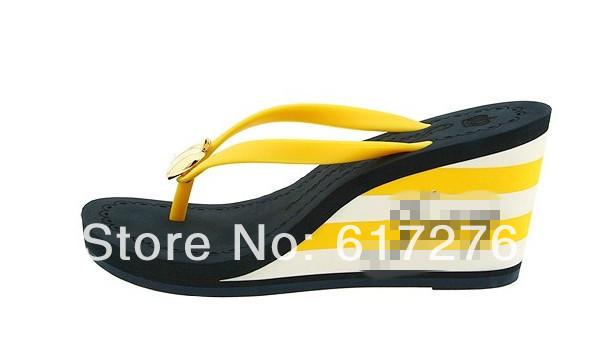 fashion slippers shoes 2014 women's flip-flops girls platform wedges sandals - Hello Club Online Store store